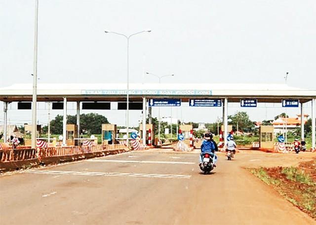 dự án giao thông BOT