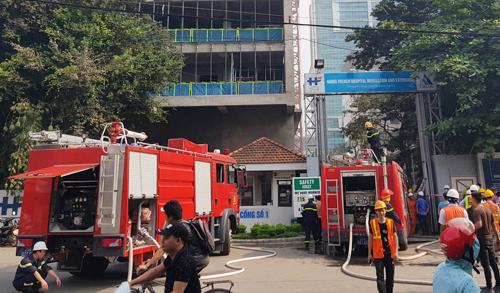 hỏa hoạn, cháy nổ, cháy tòa nhà