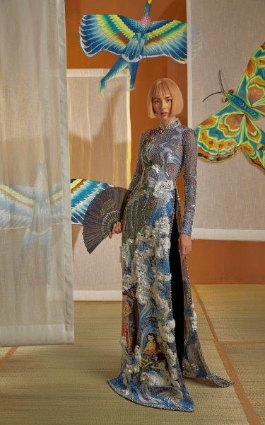 áo dài ấn tượng Nguyễn Công Trí