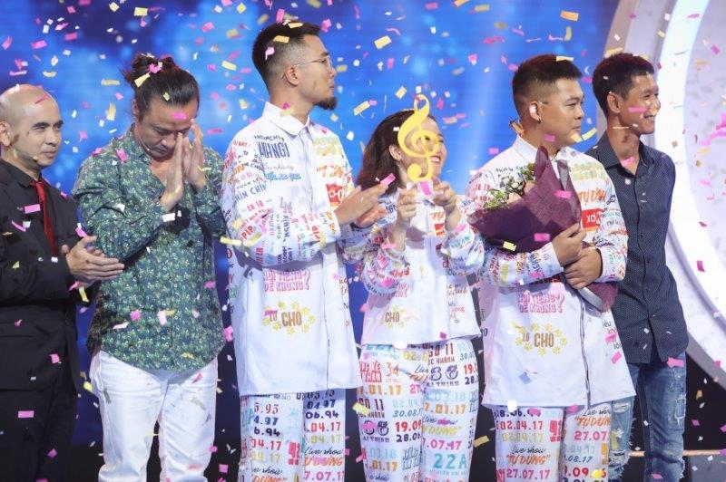 Lộn Xộn Band đăng quang ngôi vị quán quân Sing My Song mùa 2