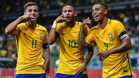 Tuyển Brazil, Neymar,