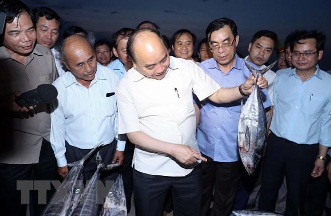sự cố môi trường biển, đền bù thiệt hại ngư dân
