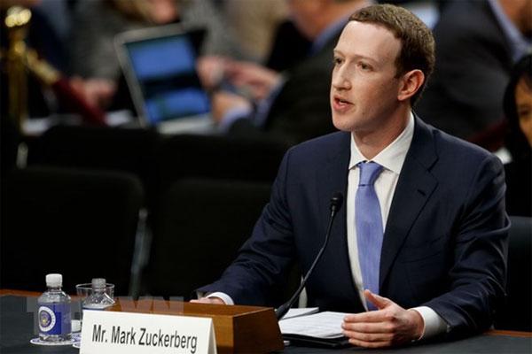 CEO Facebook Zuckerberg đồng ý điều trần trước Nghị viện châu Âu