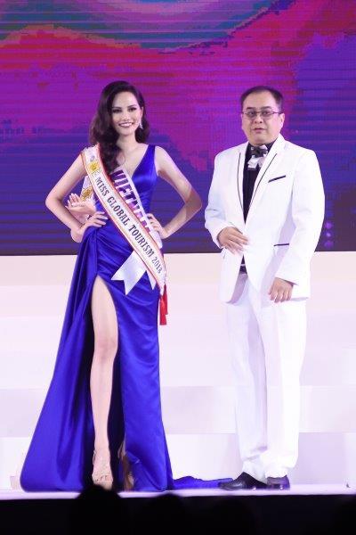 Nguyễn Diệu Linh nhận danh hiệu Miss Global Tourism