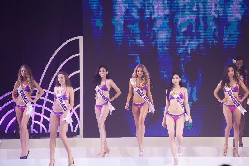 Phần thi trang phục bikini củaNữ hoàng du lịch toàn cầu 2018