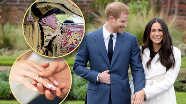 đám cưới hoàng gia, Hoàng tử Anh, Meghan Markle,
