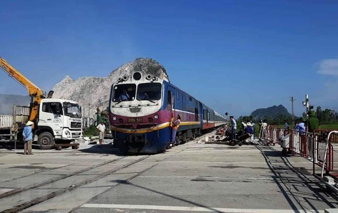 Tai nạn tàu hỏa ở Thanh Hóa