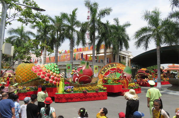 Tưng bừng khai mạc Lễ hội trái cây Nam bộ 2018