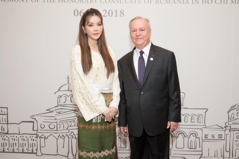 Lý Nhã Kỳ chính thức trở thành Lãnh sự danh dự Romania tại TPHCM