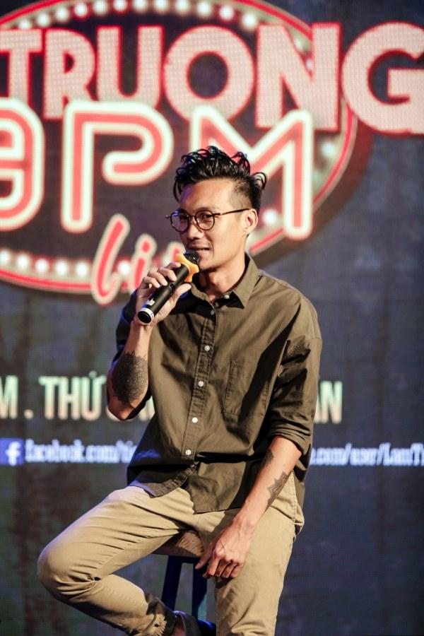Đạo diễn Tùng Phan cho biết sẽ có nhiều thú vị trong Lam Trường 9 PM Live
