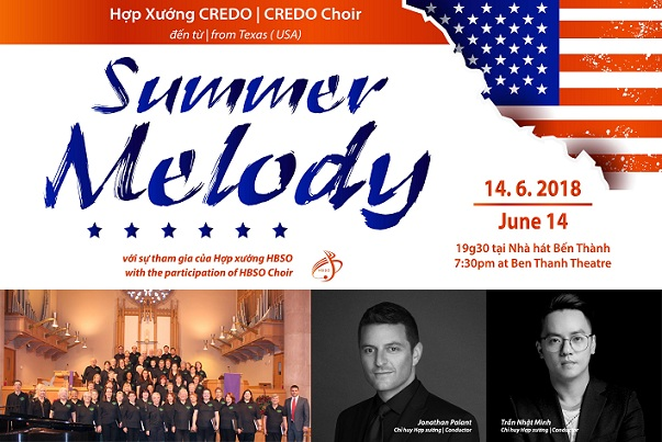 Hợp xướng CREDO, Nhà hát Giao hưởng Nhạc Vũ Kịch TPHCM