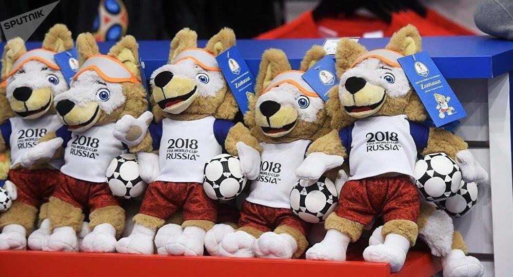 World Cup 2018, đồ lưu niệm