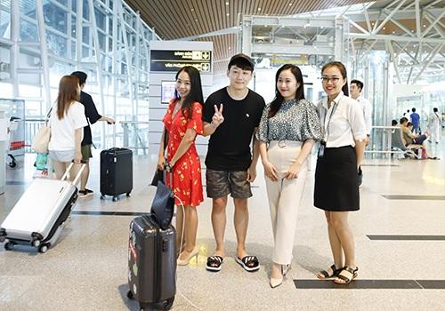 du lịch Đà Nẵng, sân bay Đà Nẵng, khách du lịch Hàn Quốc, khách du lịch Trung Quốc, khách du lịch Nhật Bản