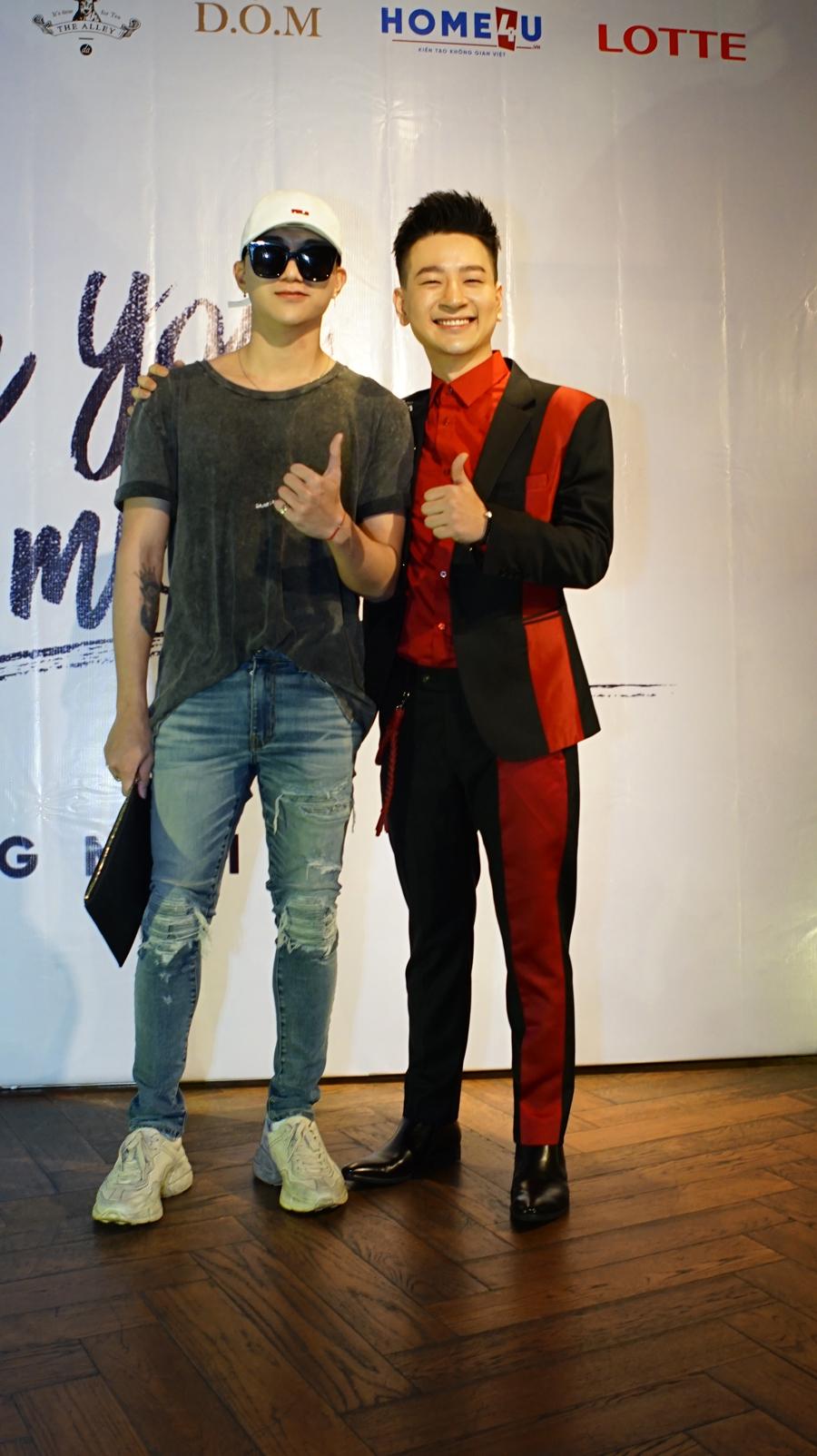 Tùng Mini và Soobin Hoàng Sơn.