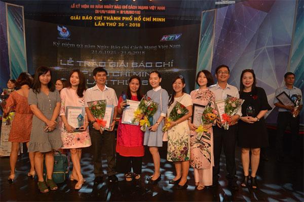 Trao 66 giải thưởng cho các tác phẩm báo chí TPHCM lần thứ 36