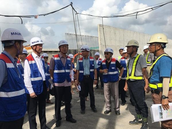 Đoàn khảo sát làm việc tại tuyến Metro số 1 (Bến Thành – Suối Tiên).
