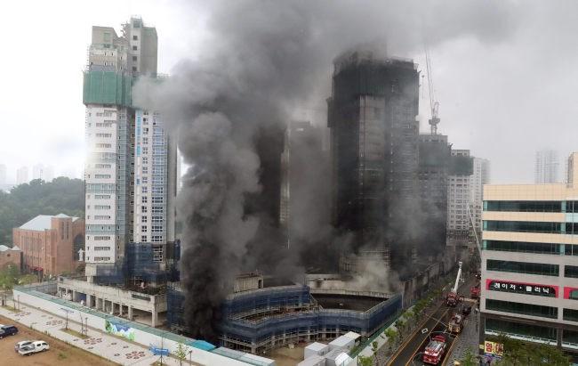 Hàn Quốc, Hỏa hoạn lớn