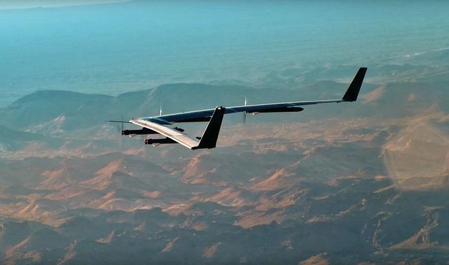 Facebook, máy bay không người lái, phủ sóng Internet, drones