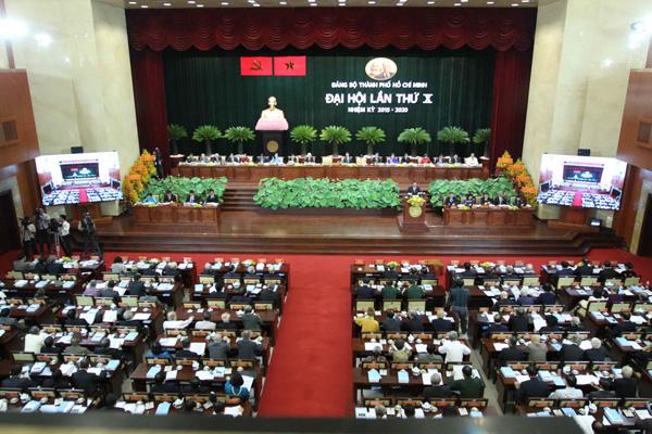 Đại hội Đảng bộ TPHCM lần thứ X