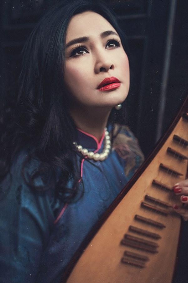 """""""Diva"""" Thanh Lam trở lại với Thay lời muốn nói với nhiều ca khúc hit."""