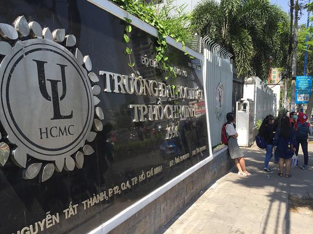 Đại học Luật TPHCM, kiểm tra năng lực, tuyển sinh 2018