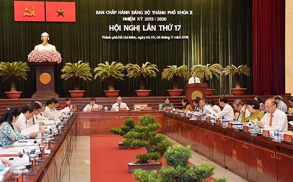 Thông báo Hội nghị lần thứ 17 Ban Chấp hành Đảng bộ thành phố Hồ Chí Minh khóa X