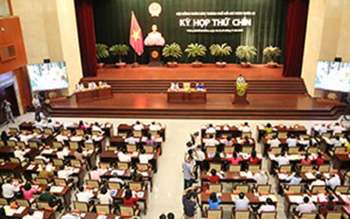 Kỳ họp thứ 9 HĐND TPHCM khoá IX