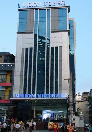 Công ty TNHH Thương mại Vision Việt Nam có địa chỉ trụ sở chính tại nhà A50, phố Đỗ Quang, phường Trung Hòa, quận Cầu Giấy, Hà Nộ
