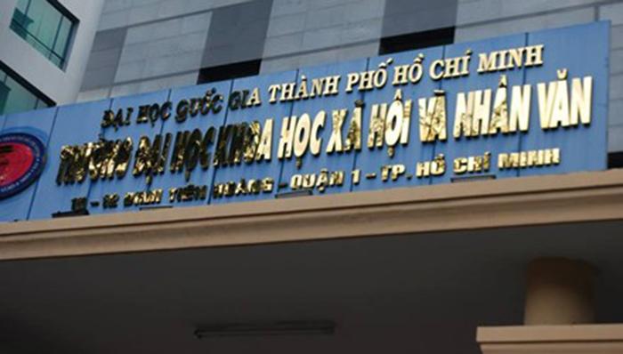 476 thí sinh trúng tuyển ưu tiên xét tuyển vào trường ĐH Khoa học Xã hội và Nhân văn TPHCM