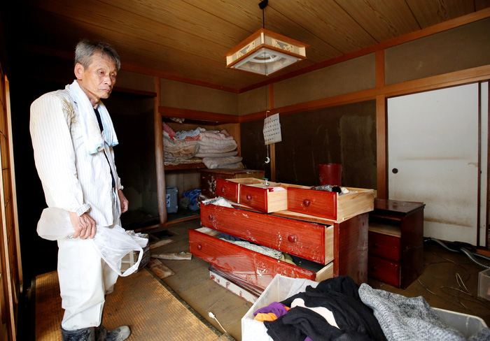 Lũ lụt Nhật Bản, mưa lũ Nhật Bãn