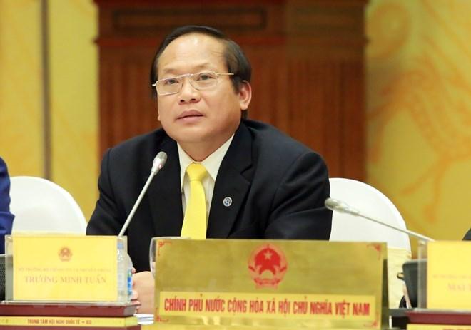 Trương Minh Tuấn, Nguyễn Bắc Son,  thi hành kỷ luật