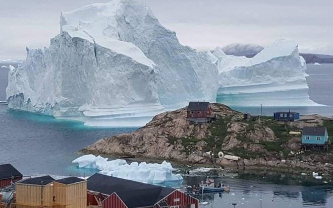 Đan Mạch , sơ tán, tảng băng trôi, Greenland