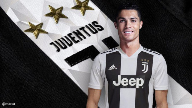 Juventus, C.Ronaldo, lương khủng