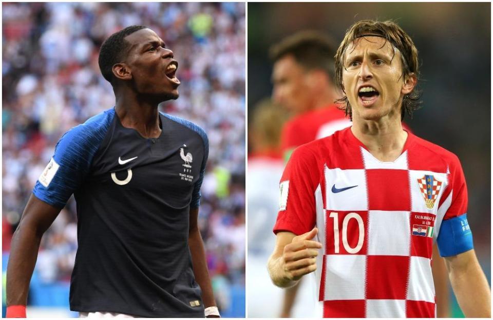 Cuộc chiến giữa sân Pogba vs Modric