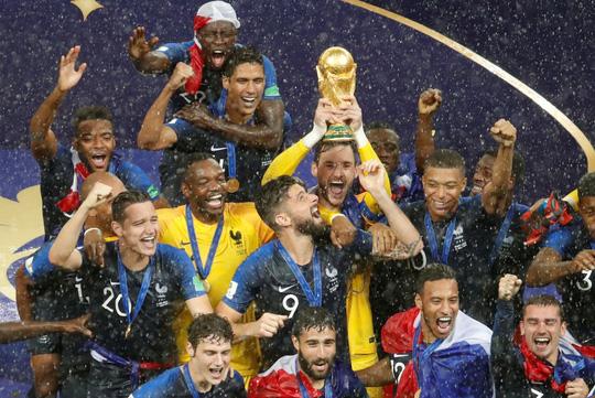 trộm huy chương, huy chương vàng, vô địch World Cup, World Cup 2018