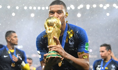 Mbappe, Cầu thủ trẻ, World Cup 2018