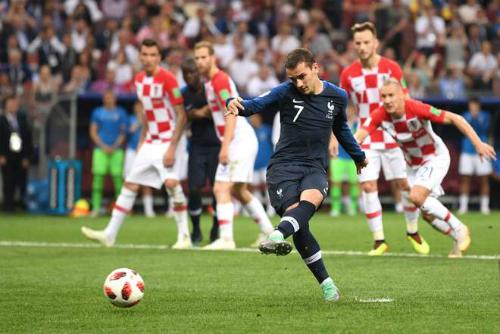World Cup 2018, phạt đền