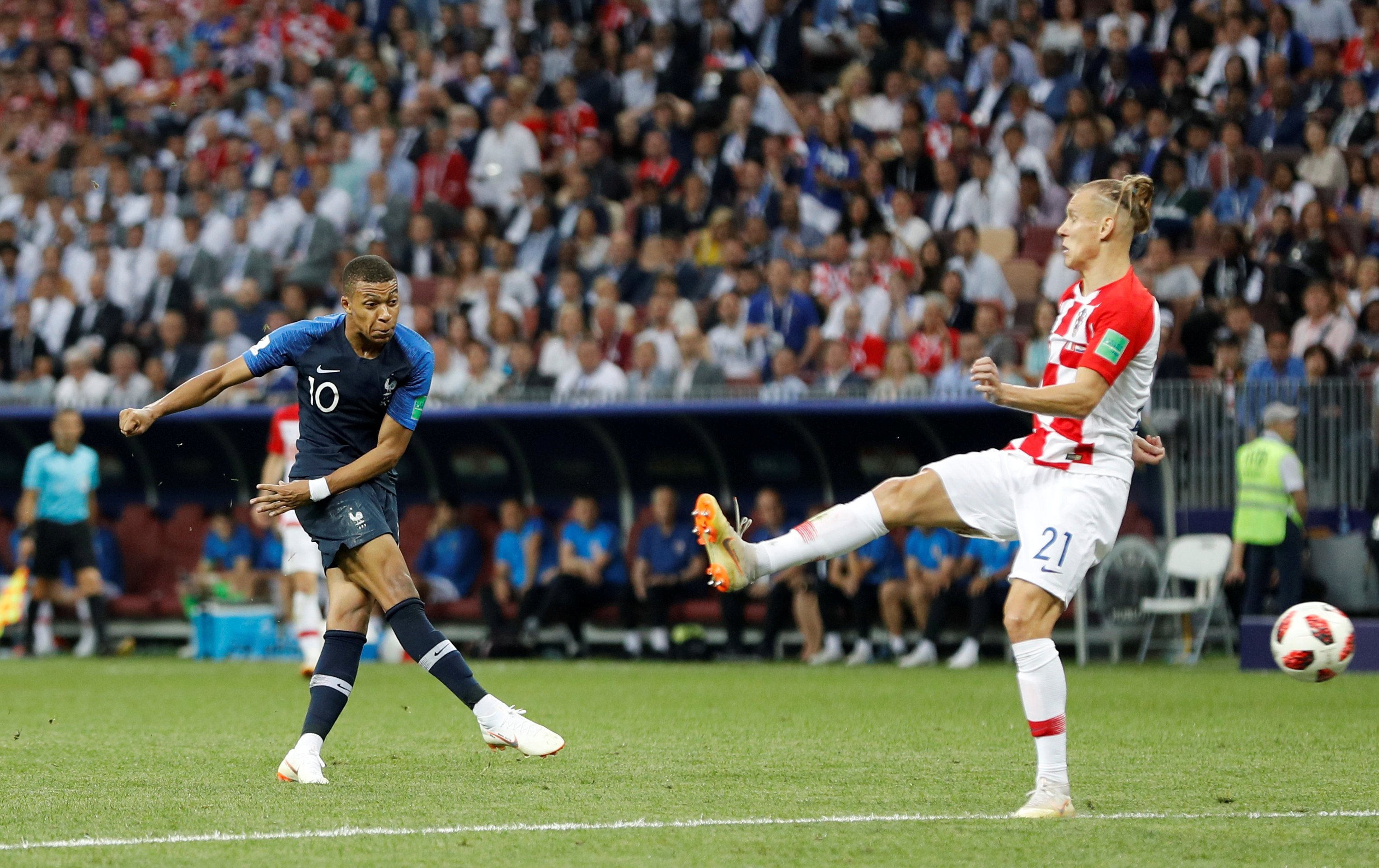 Mbappe, World Cup 2018