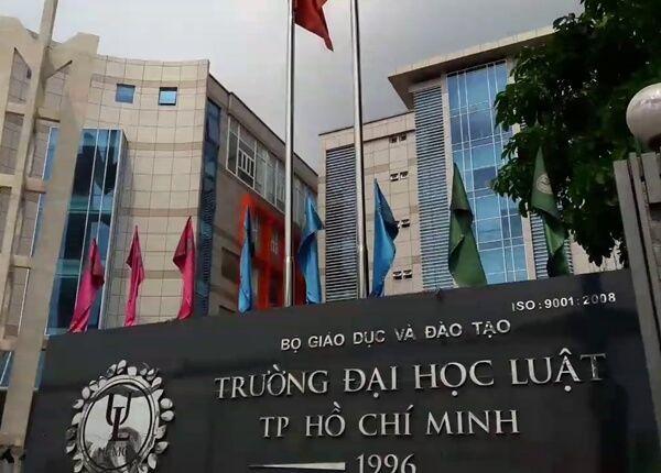 Đại học Luật TPHCM công bố danh sách trúng tuyển vào ngày 22/7