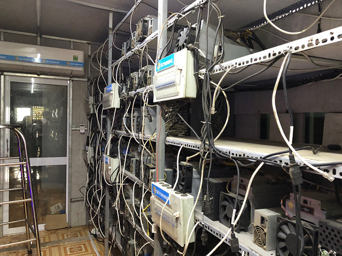 mỏ đào, Sky mining, lừa đảo, tiền ảo, bitcoin