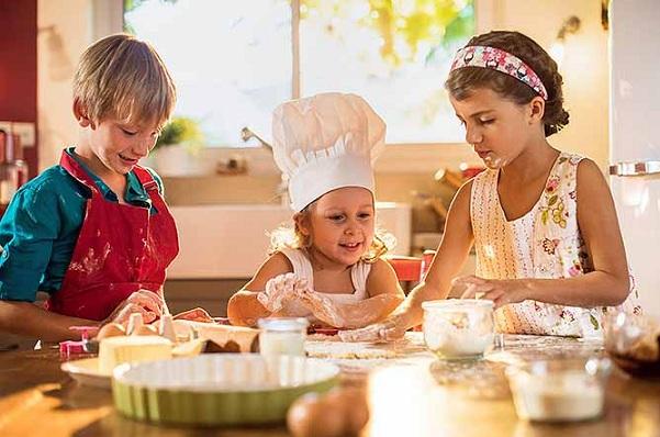 nấu ăn, kĩ năng nấu ăn, để con vào bếp
