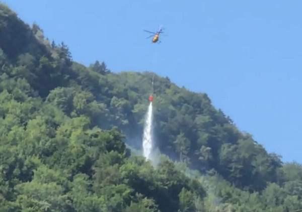 Thụy Sĩ, tai nạn máy bay, máy bay rơi