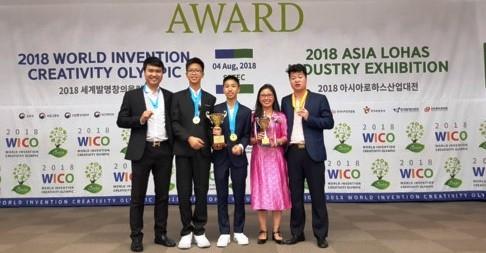 Olympic Phát minh và Sáng chế Thế giới, Học sinh Việt Nam