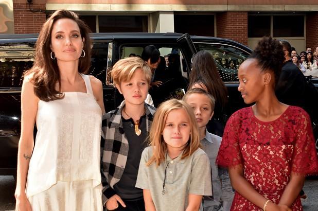 Angelina Jolie, Brad Pitt, ly hôn, ly thân