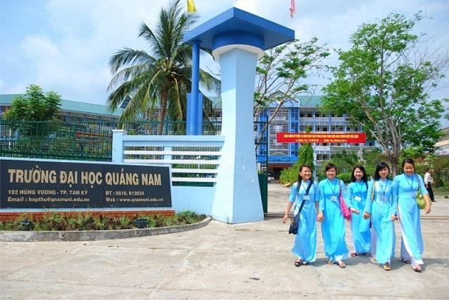 Đại học Quảng Nam, xét tuyển học bạ, nguyện vọng bổ sung, tuyển sinh 2018
