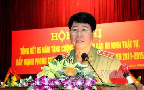Thượng tướng Bùi Văn Nam, Thứ trưởng Bộ Công an.
