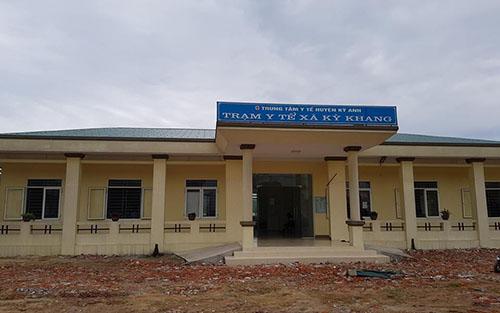 tử vong tại Trạm y tế xã Kỳ Khang sau khi được cán bộ y tế ở đây tiêm thuốc dưỡng não.