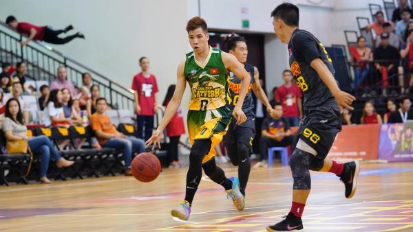 Đánh bại Saigon Heat ngay trên sân khách, Cantho Catfish tiến gần hơn kỷ lục giành nhiều trận thắng nhất ở vòng bảng