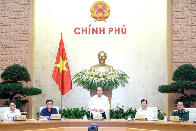 Phiên họp chuyên đề của Chính phủ về xây dựng pháp luật