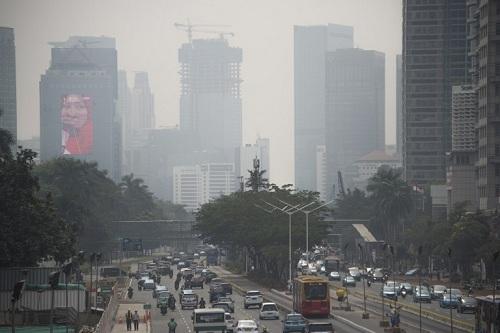 Ô nhiễm không khí đe dọa Asian Games ở Indonesia
